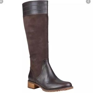 NWOT Timberland Bethel Heights Tall Boots Brown